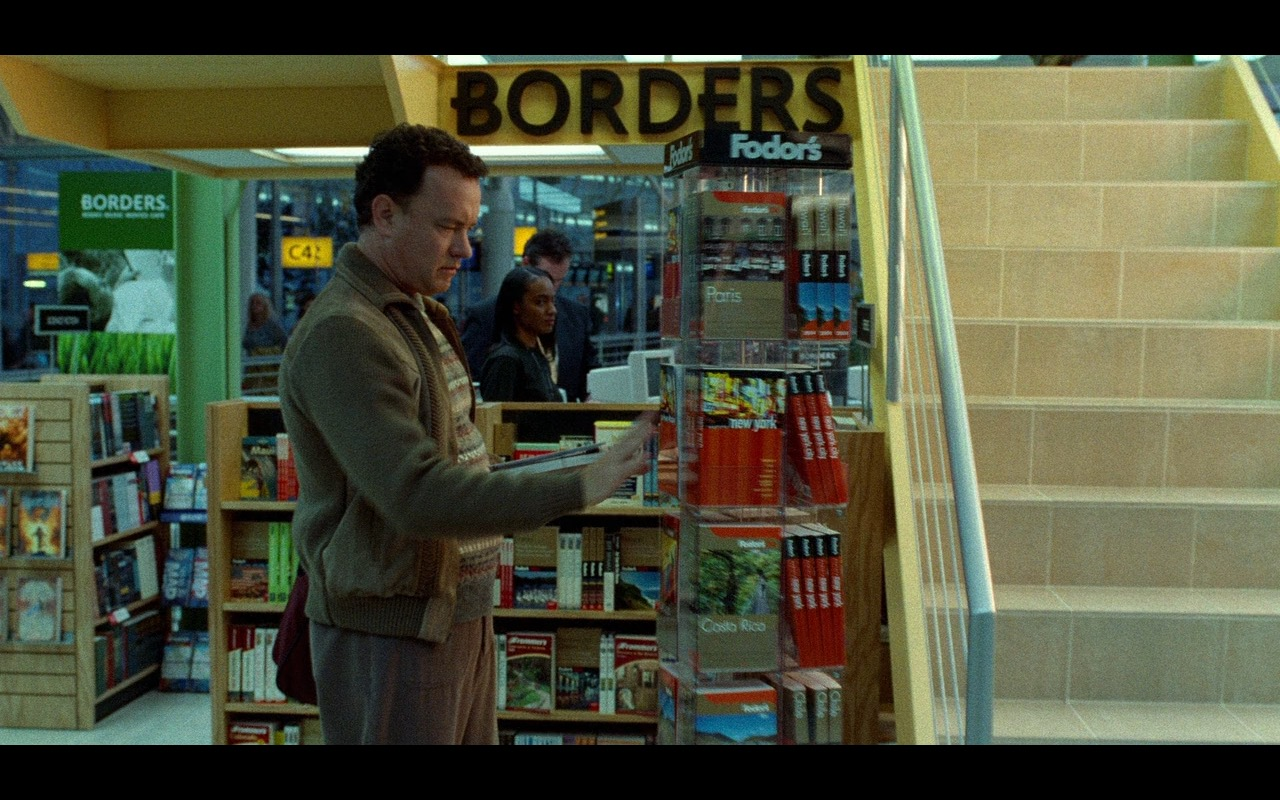 Borders & Fodor's – The Terminal (2004) Movie Product Placement