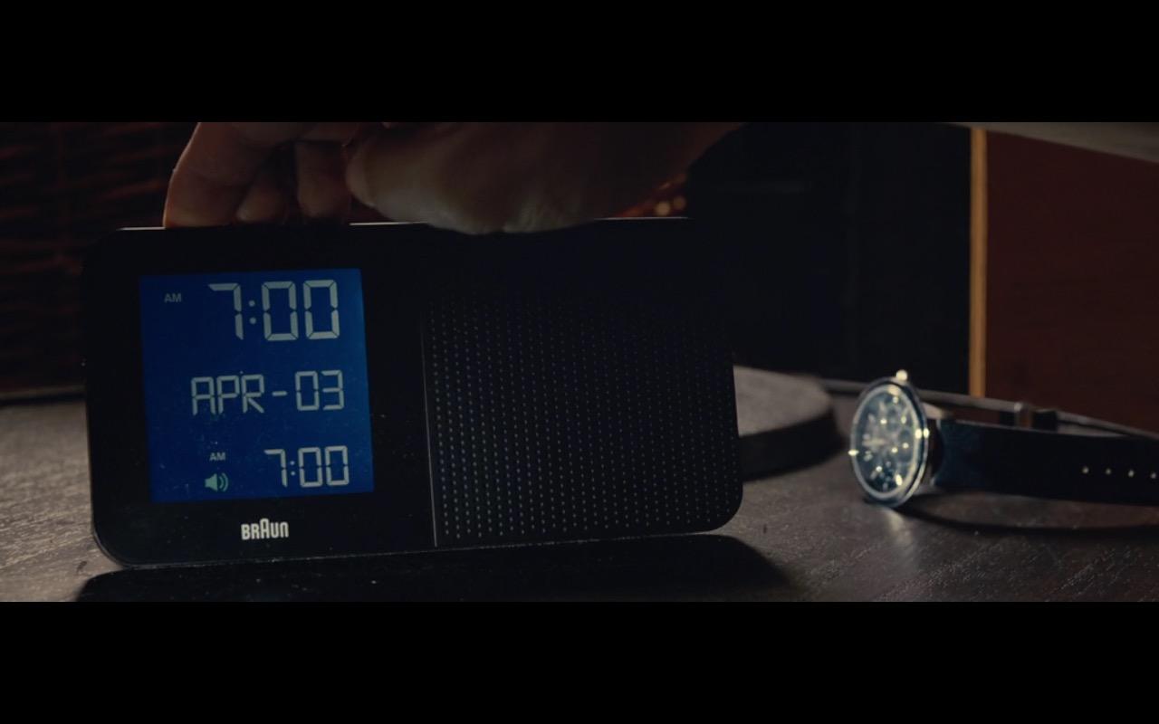 Braun Clocks - 2:22 (2017) Movie Product Placement