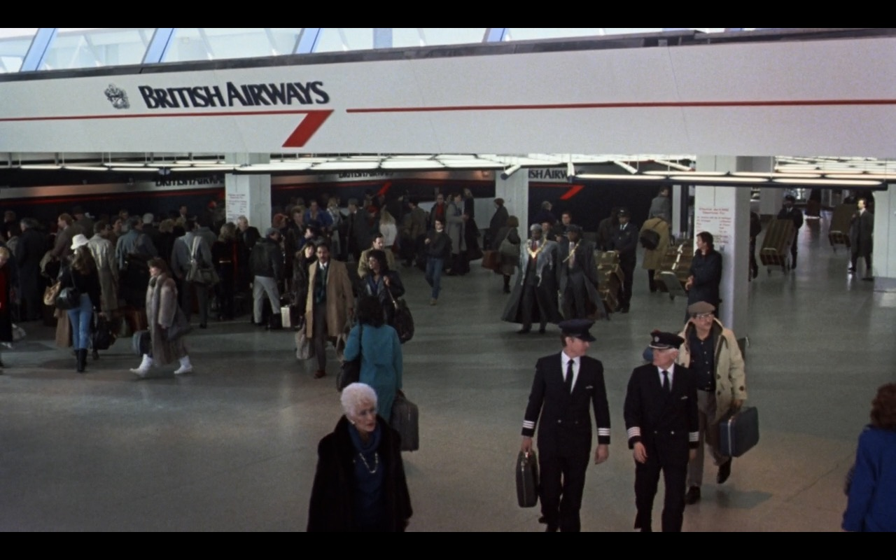 British Airways - Coming to America (1988) Movie Product Placement