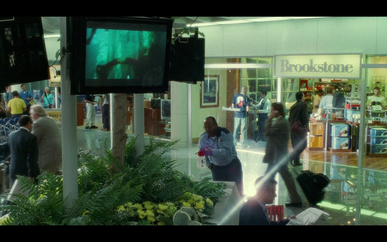 Brookstone - The Terminal (2004) Movie Product Placement