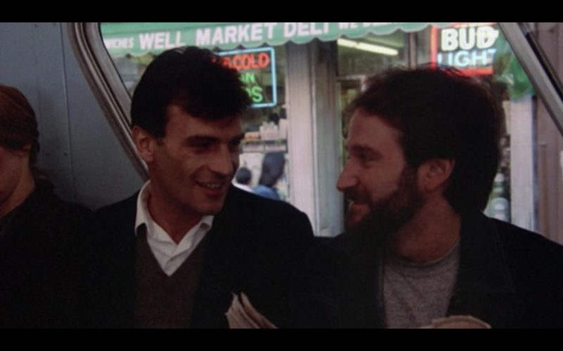 Bud Light Neon Sign – Moscow on the Hudson (1984) Movie Product Placement