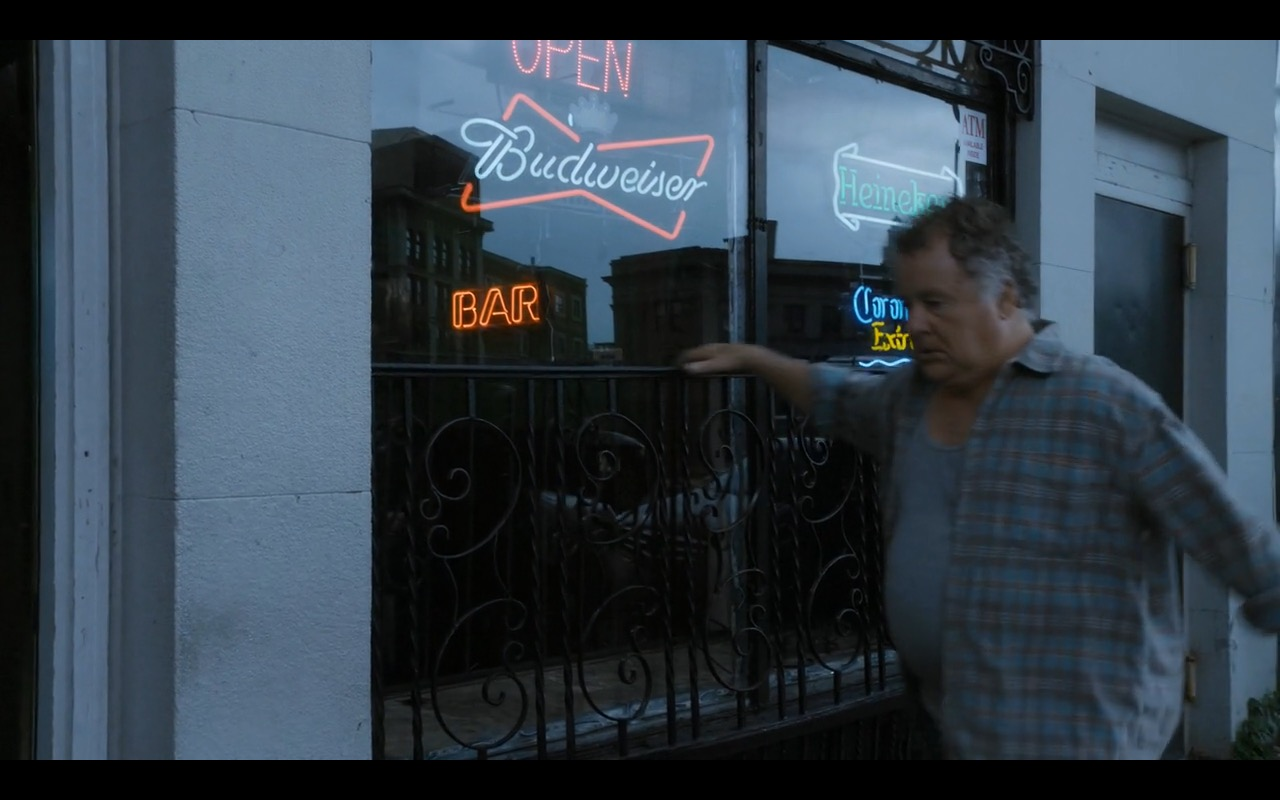 Budweiser, Corona and Heineken - Sneaky Pete TV Show Product Placement