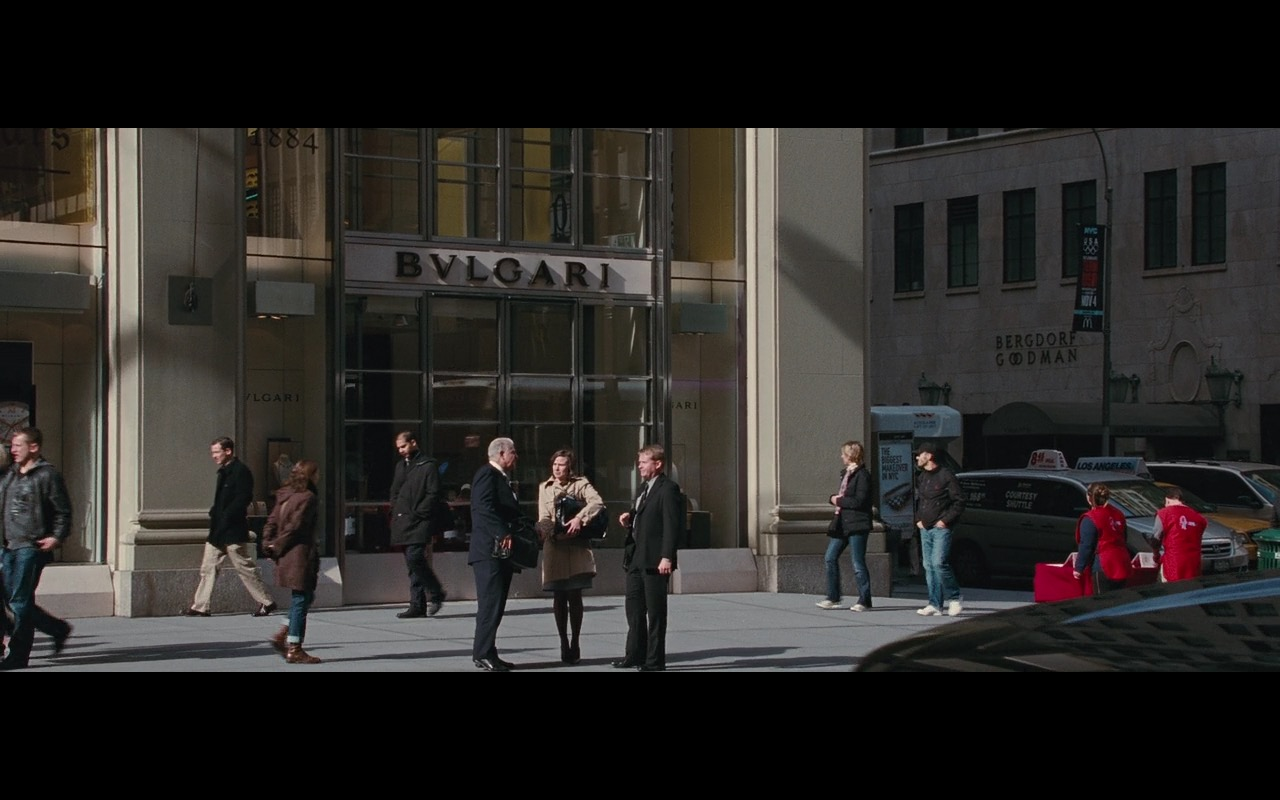 Bulgari & Bergdorf Goodman Stores - Wall Street: Money Never Sleeps (2010) - Movie Product Placement