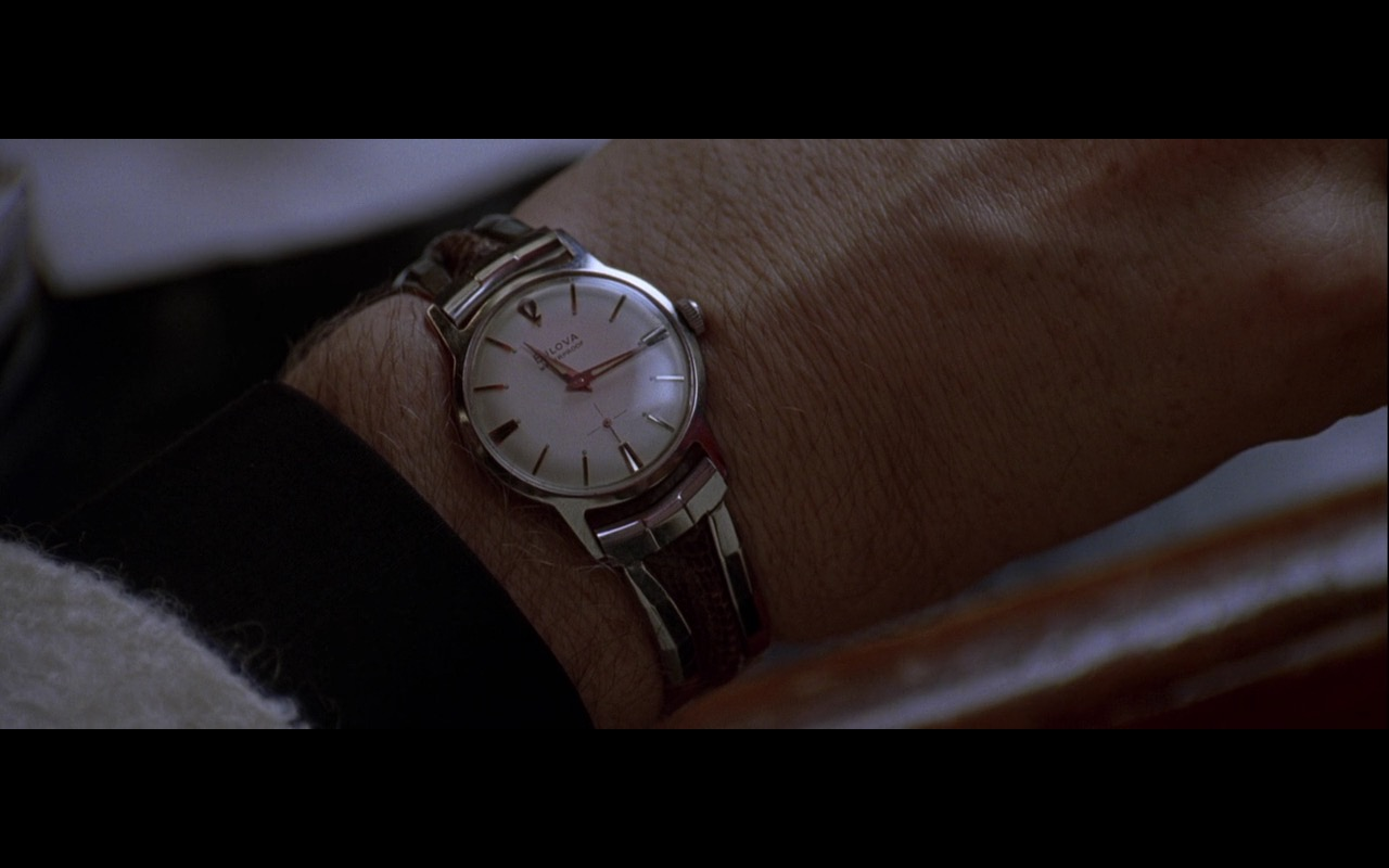 Bulova Watch - L.A. Confidential (1997) Movie Product Placement