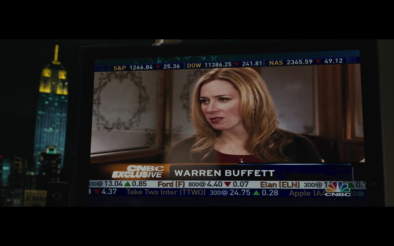 CNBC TV Channel – Wall Street: Money Never Sleeps (2010) Movie Product Placement