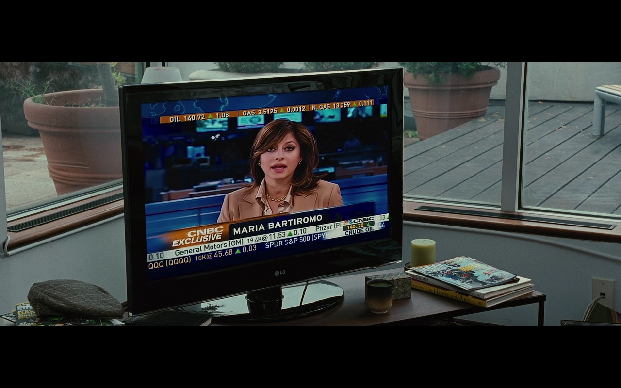 CNBC TV channel and LG TV - Wall Street: Money Never Sleeps (2010) Movie Product Placement