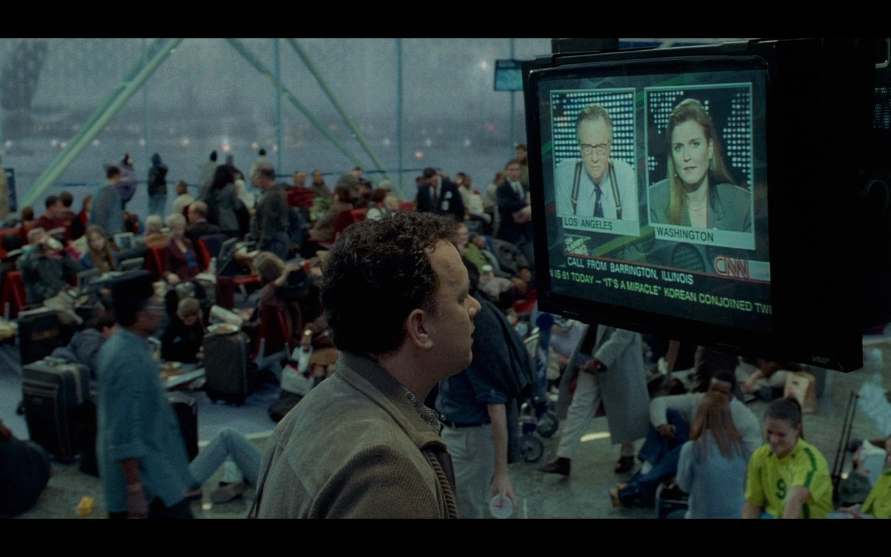 CNN TV Channel – The Terminal (2004) Movie Product Placement