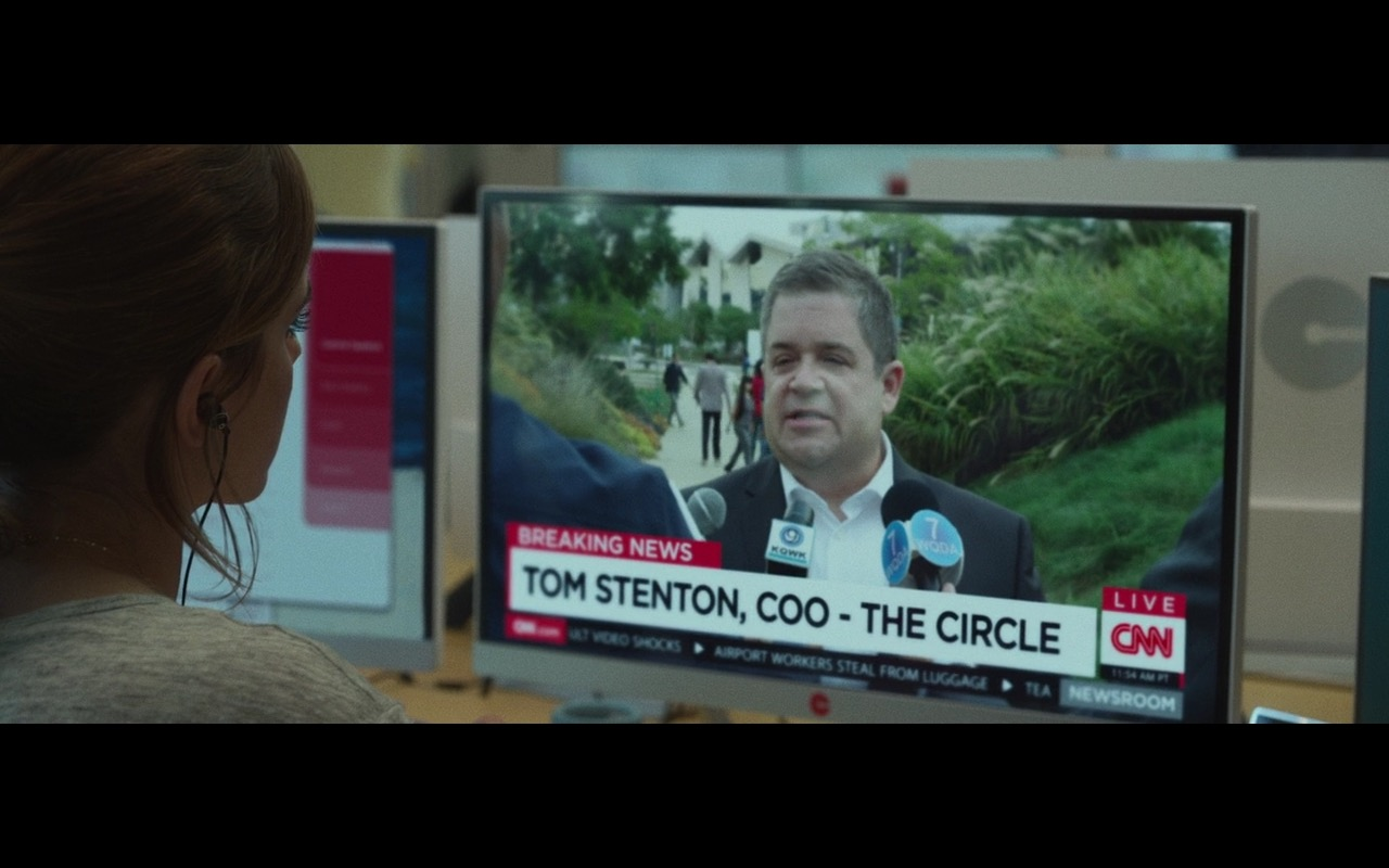 CNN - The Circle (2017) Movie Product Placement