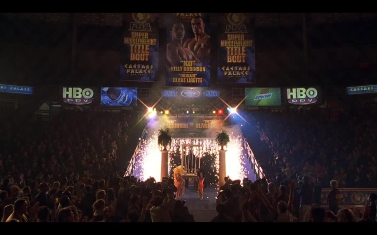 Caesars Palace, HBO PPV, Pepsi, Gatorade - I Spy (2002) Movie Product Placement