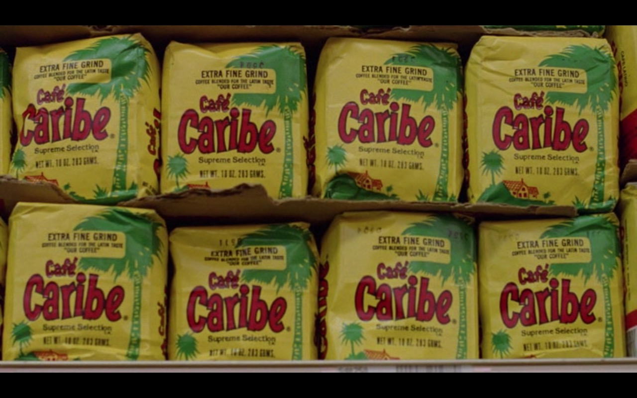 Café Caribe Coffee – Moscow on the Hudson (1984) Movie Product Placement