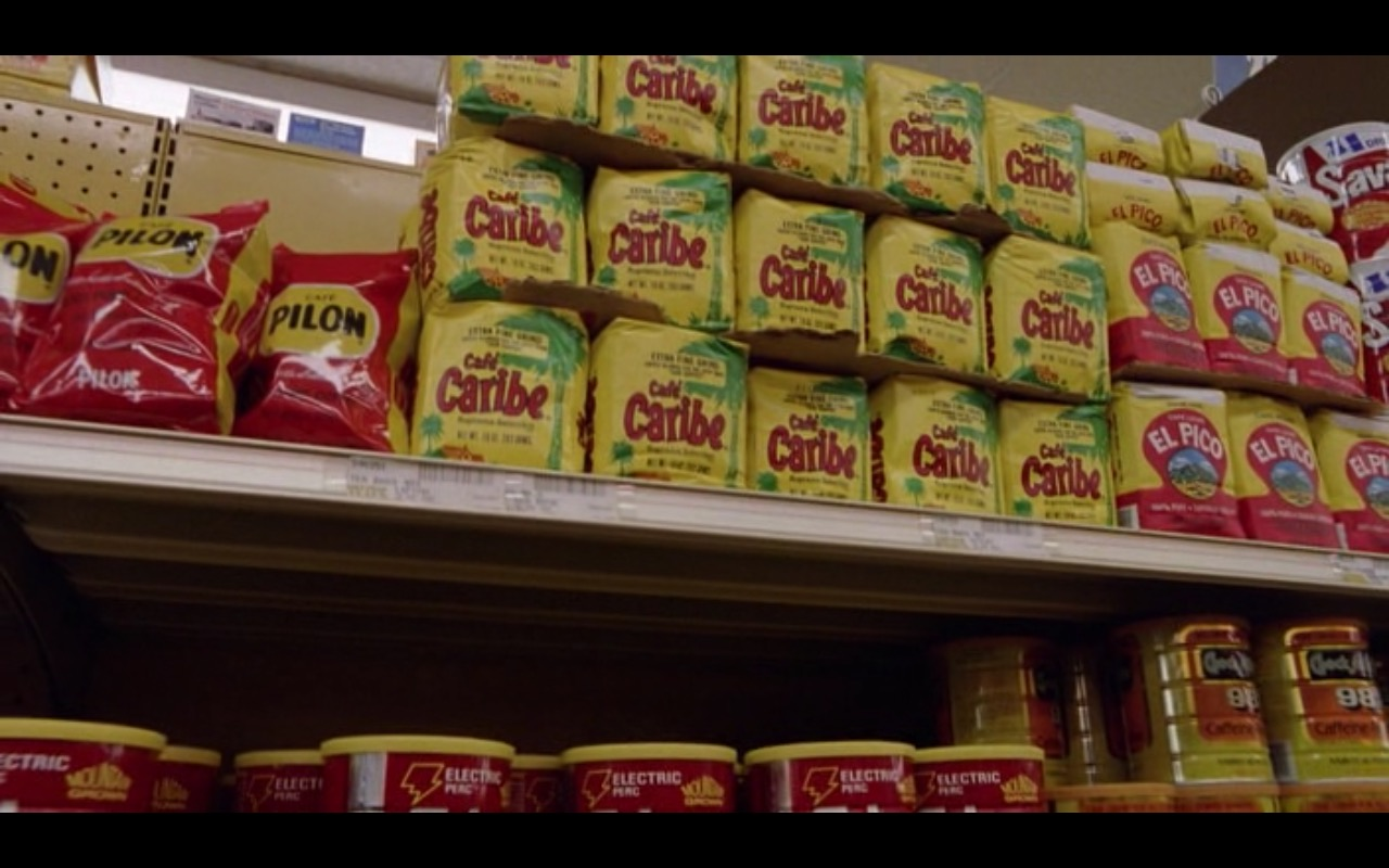Café Pilon, Café Caribe and El Pico Coffee – Moscow on the Hudson (1984) - Movie Product Placement