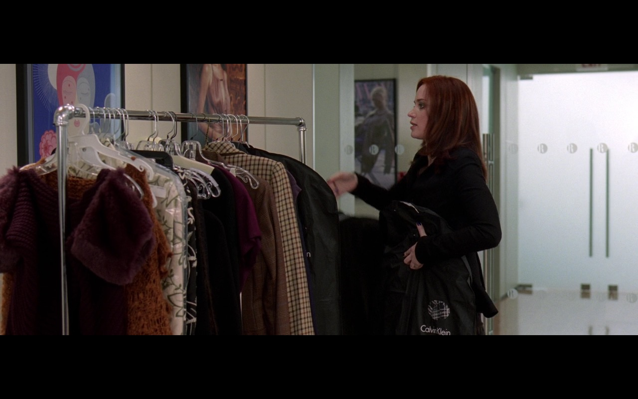 Calvin Klein - The Devil Wears Prada (2006) Movie Product Placement
