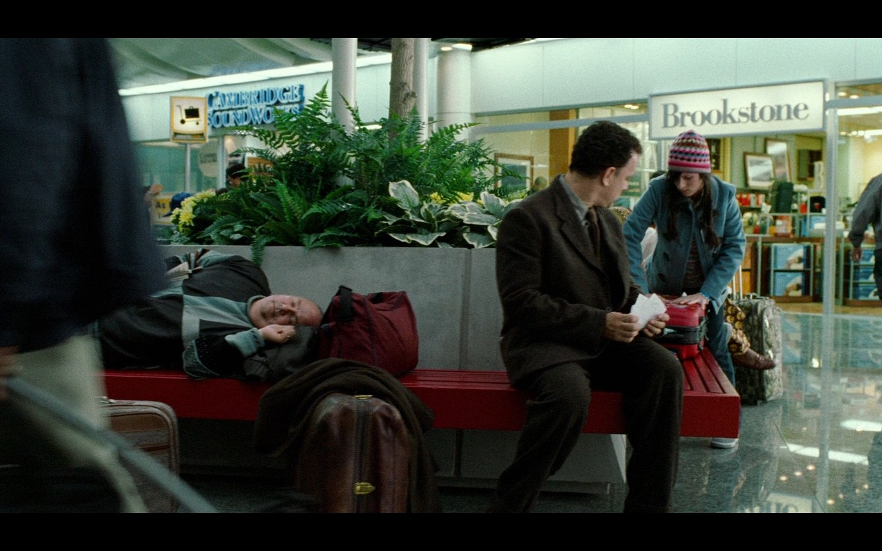 Cambridge SoundWorks and Brookstone – The Terminal (2004) Movie Product Placement