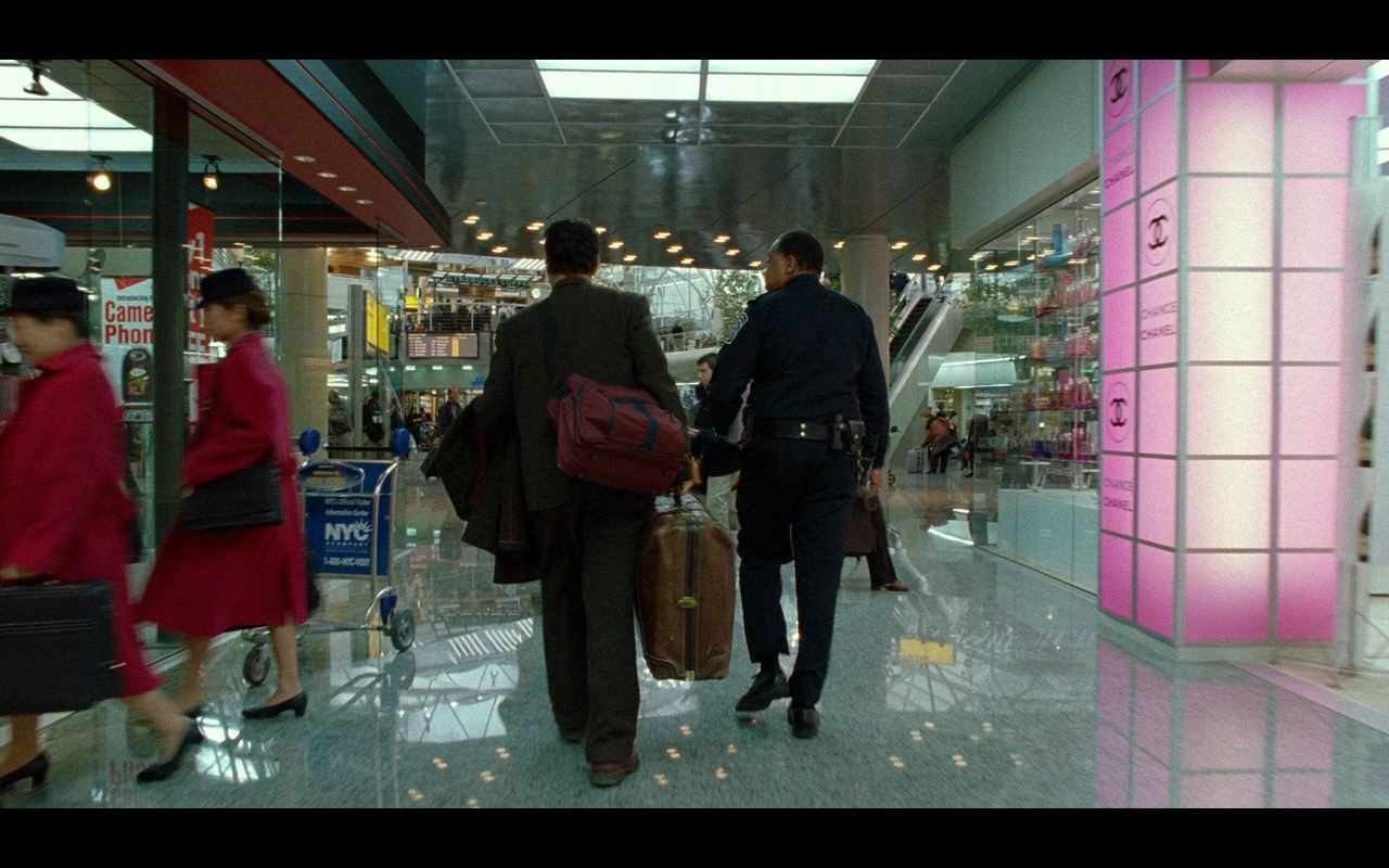 Chanel – The Terminal (2004) Movie Product Placement