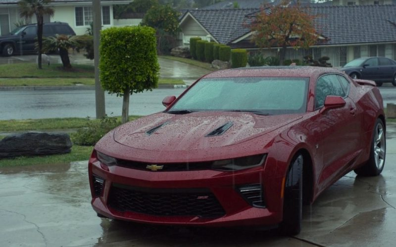 Chevrolet Camaro Car (Red) – CHIPS 2017 (1)
