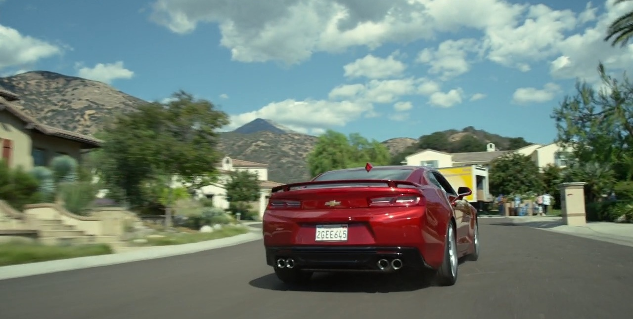 Chevrolet Camaro Car (Red) – CHIPS (2017) Movie Product Placement
