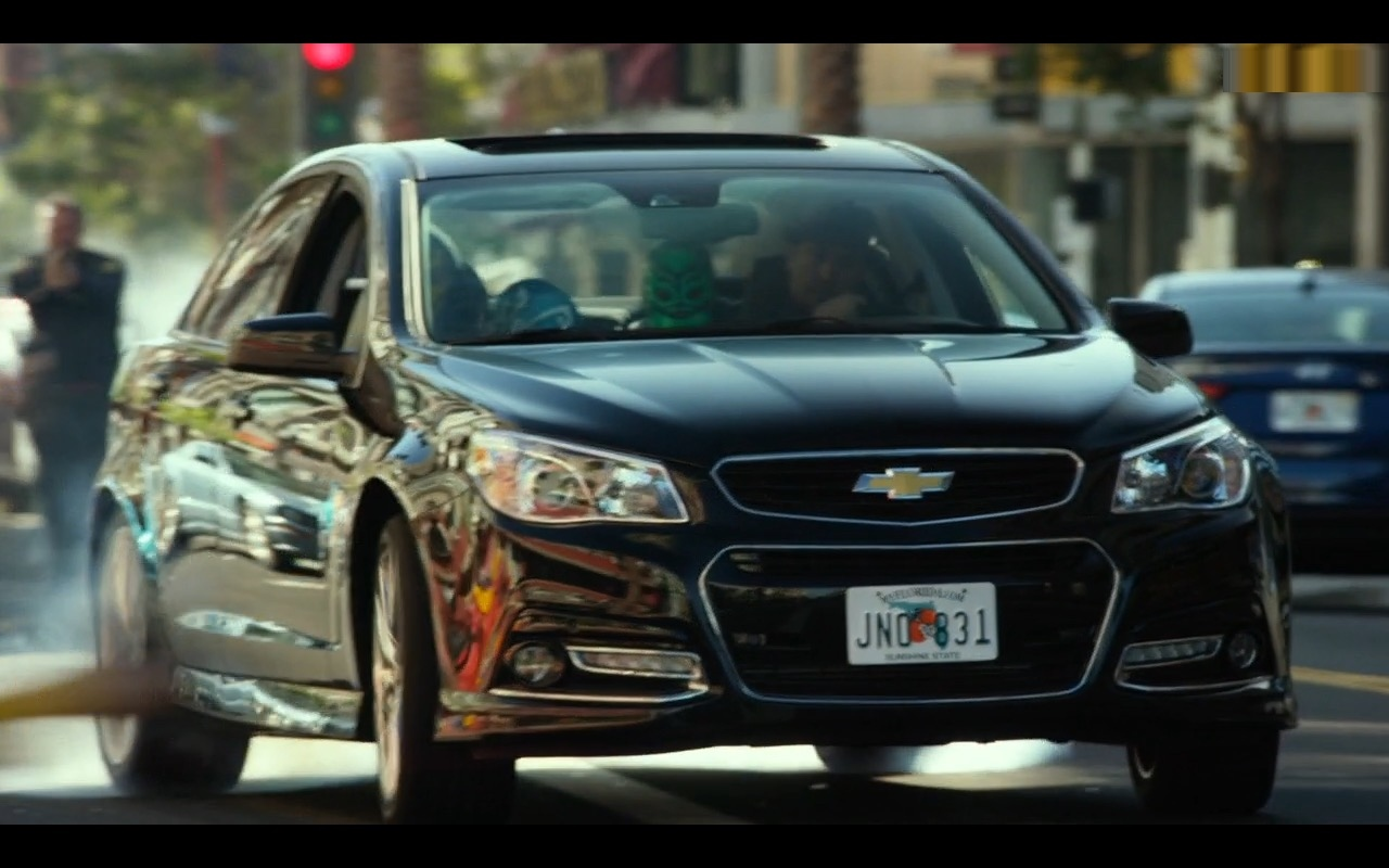 Chevrolet SS Car – CHIPS (2017) Movie Product Placement