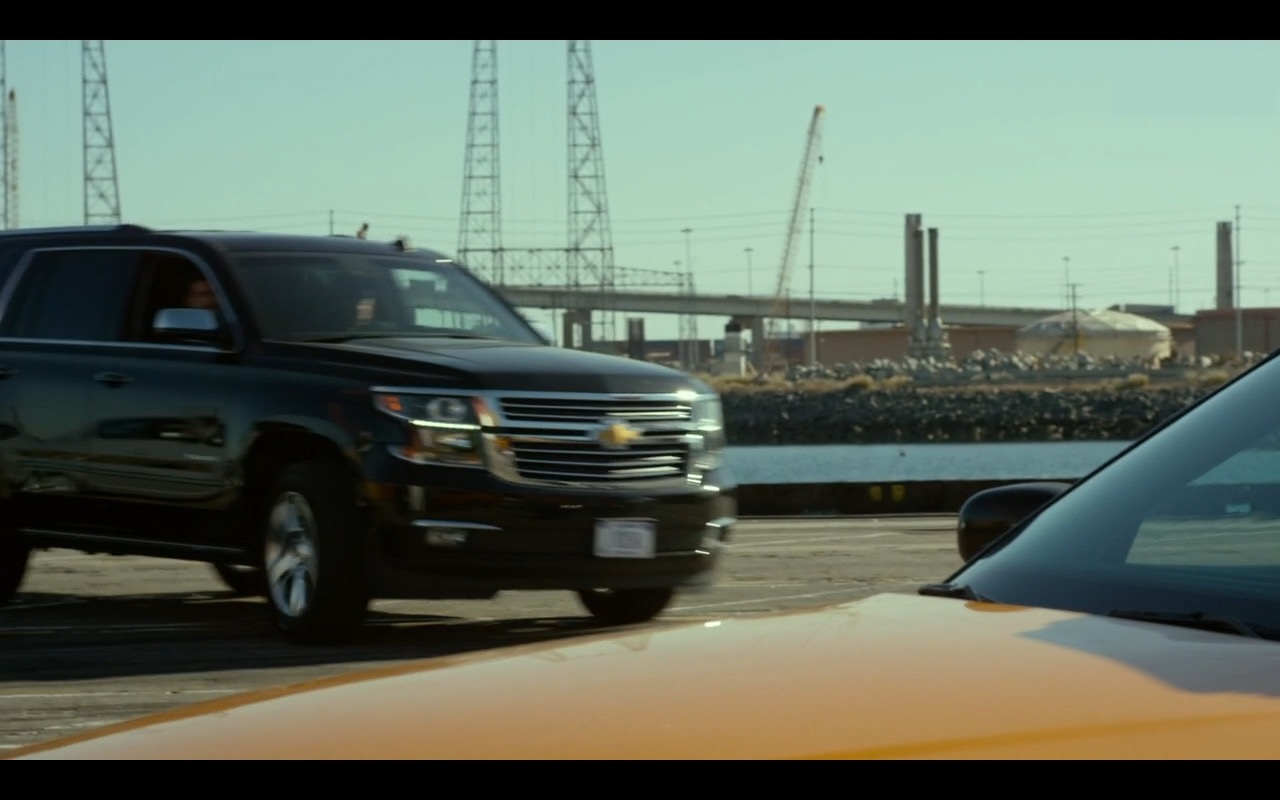 Chevrolet Suburban Cars – CHIPS (2017) - Movie Product Placement
