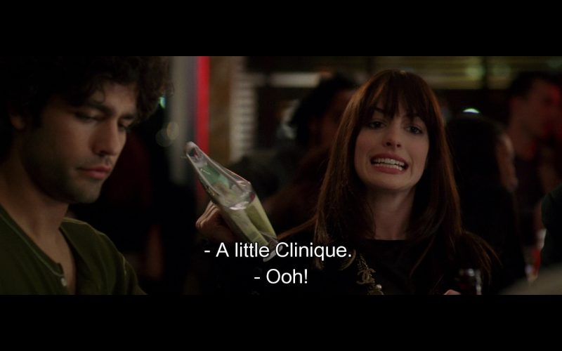 Clinique – The Devil Wears Prada (2006) Movie Product Placement