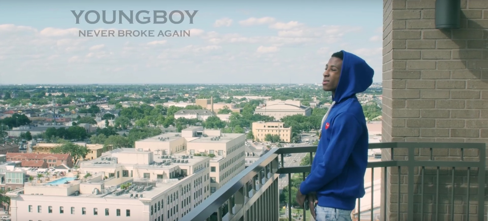 Comme des Garçons Hoodie – YoungBoy Never Broke Again – Untouchable Official Music Video Product Placement