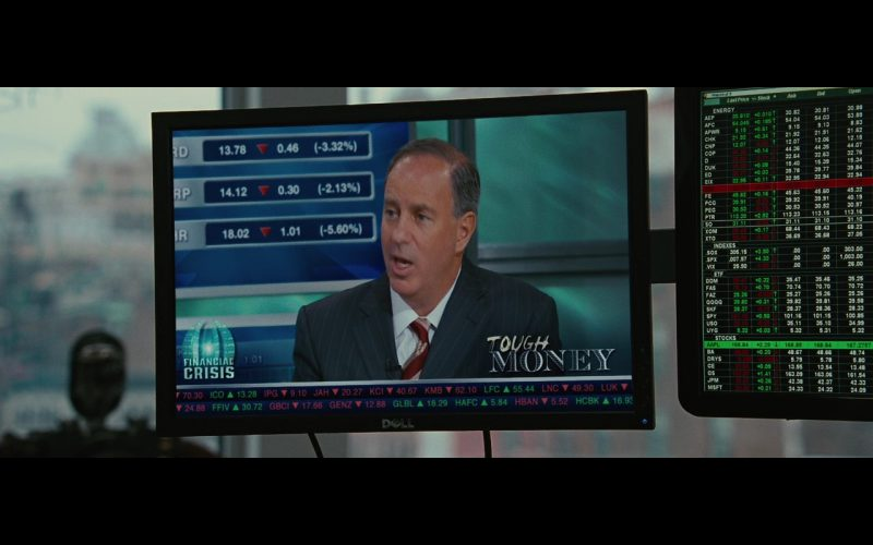 DELL TV – Wall Street: Money Never Sleeps (2010) Movie Product Placement