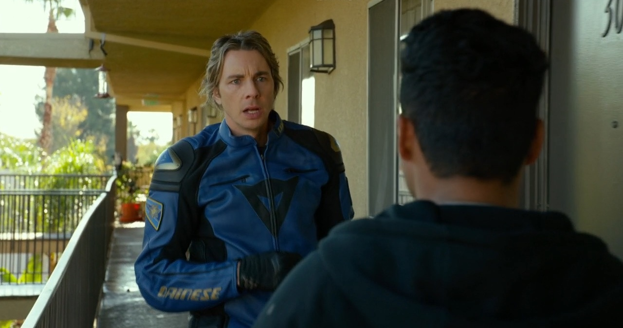 Dainese Motorcycle Clothing – CHIPS (2017) Movie Product Placement