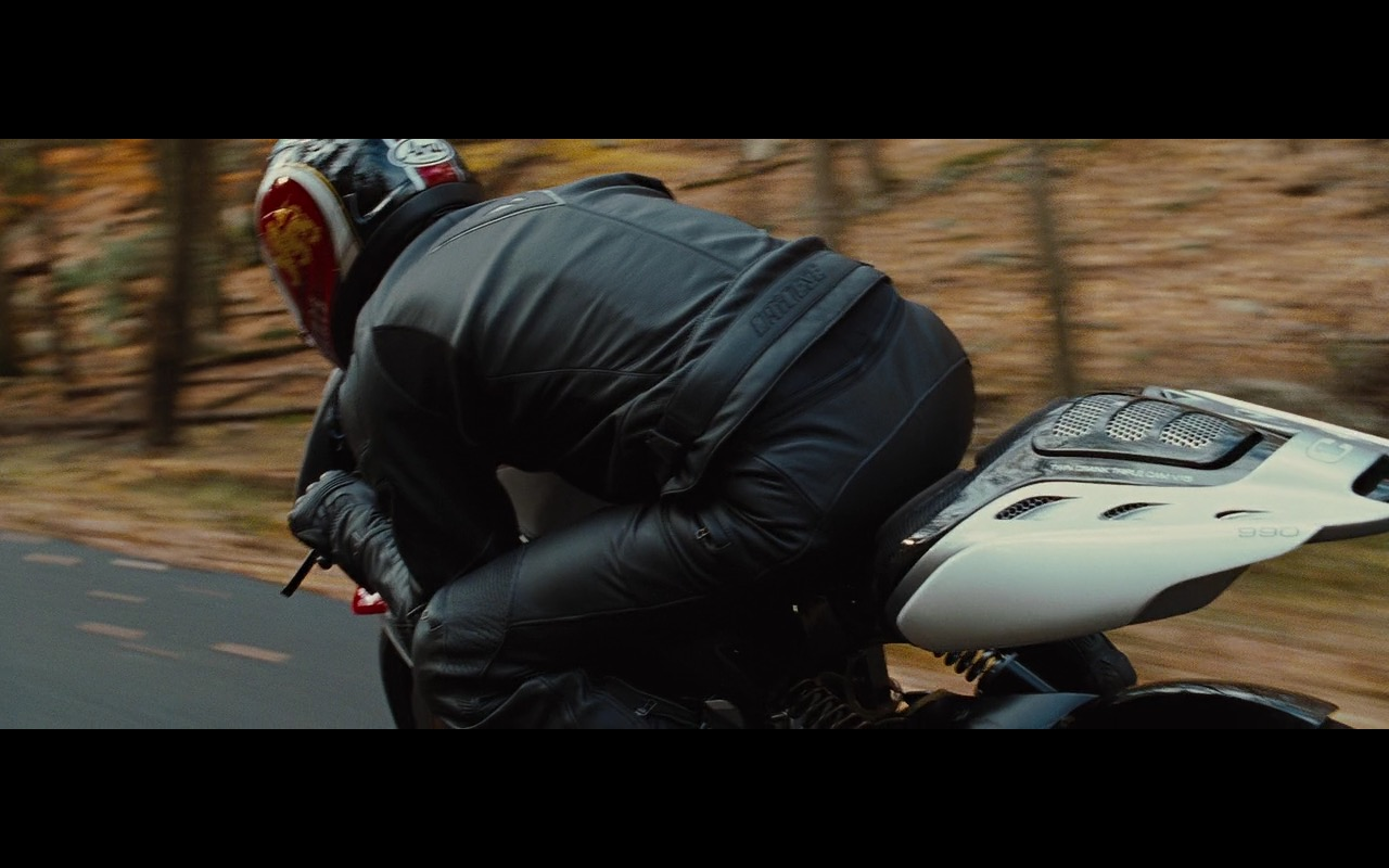 Dainese Motorcycle Gear – Wall Street: Money Never Sleeps (2010) Movie Product Placement