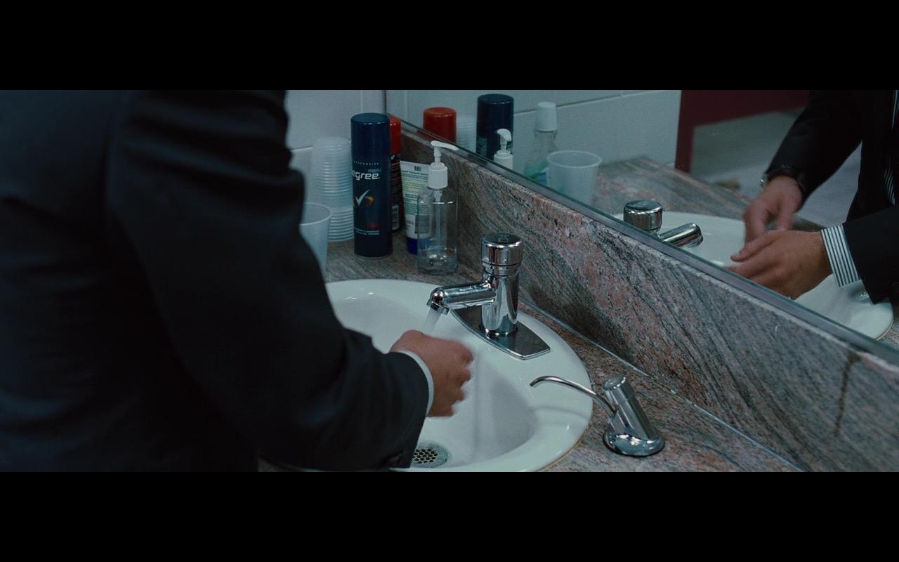 Degree Men's Dry Spray Deodorant – Wall Street: Money Never Sleeps (2010) Movie Product Placement
