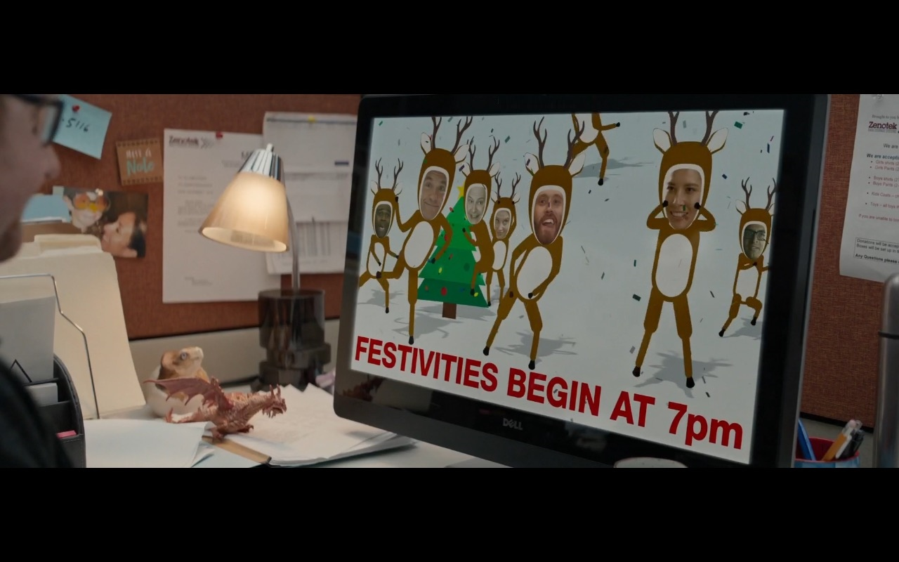 Dell All-In-One Computers – Office Christmas Party (2016) Movie Product Placement