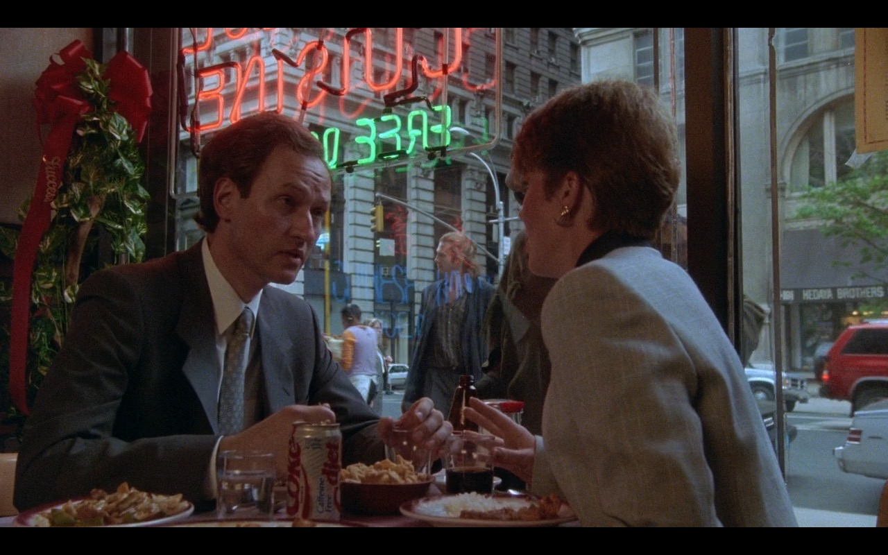 Diet Coke - The Fisher King (1991) Movie Product Placement