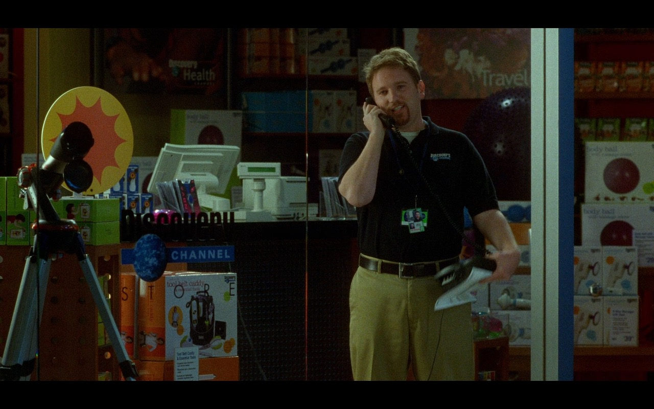 Discovery Channel Store – The Terminal (2004) Movie Product Placement
