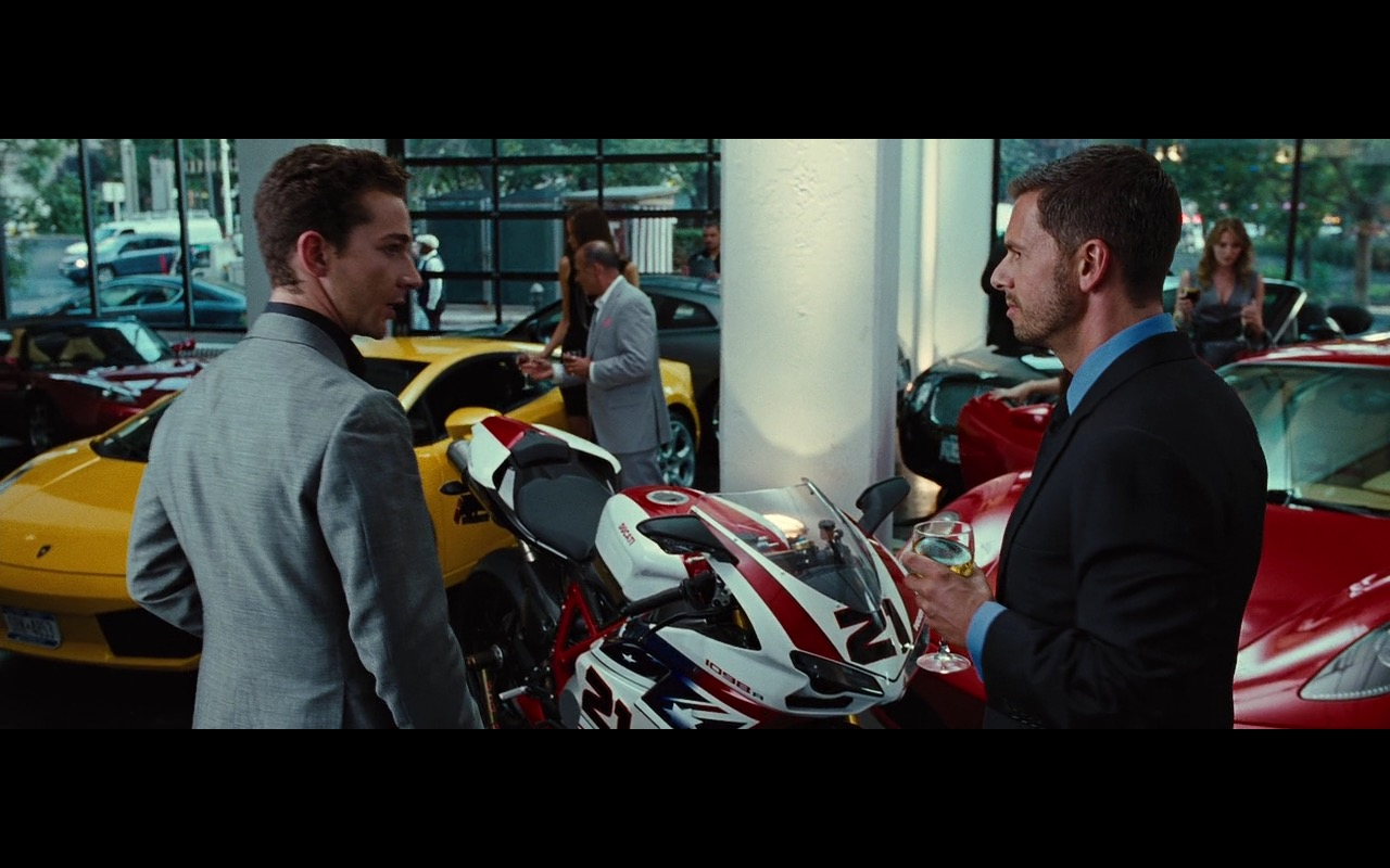 Ducati 1098R – Wall Street: Money Never Sleeps (2010) Movie Product Placement