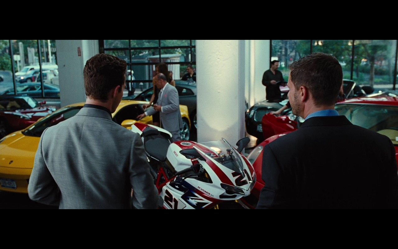 Ducati 1098R – Wall Street: Money Never Sleeps (2010) - Movie Product Placement