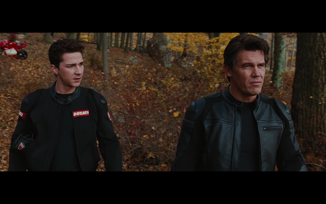 Ducati And Dainese Motorcycle Gear – Wall Street: Money Never Sleeps (2010) Movie Product Placement