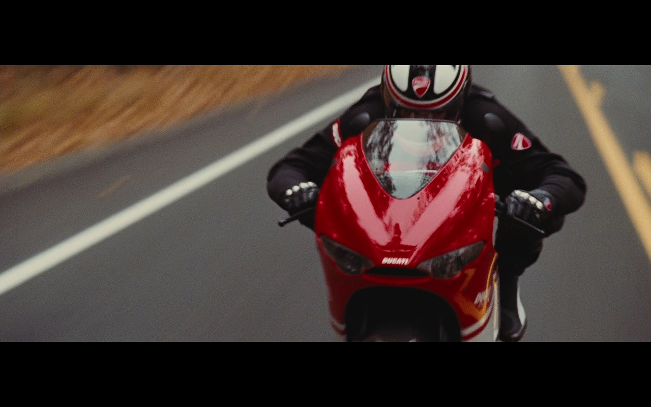 Ducati Desmosedici RR, Arai Helmet And Ducati Moto Gear – Wall Street: Money Never Sleeps (2010) - Movie Product Placement