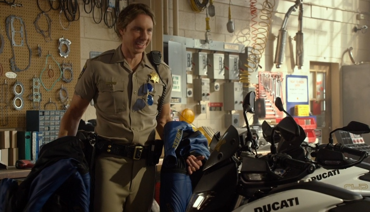 Ducati Motorcycles – CHIPS (2017) Movie Product Placement