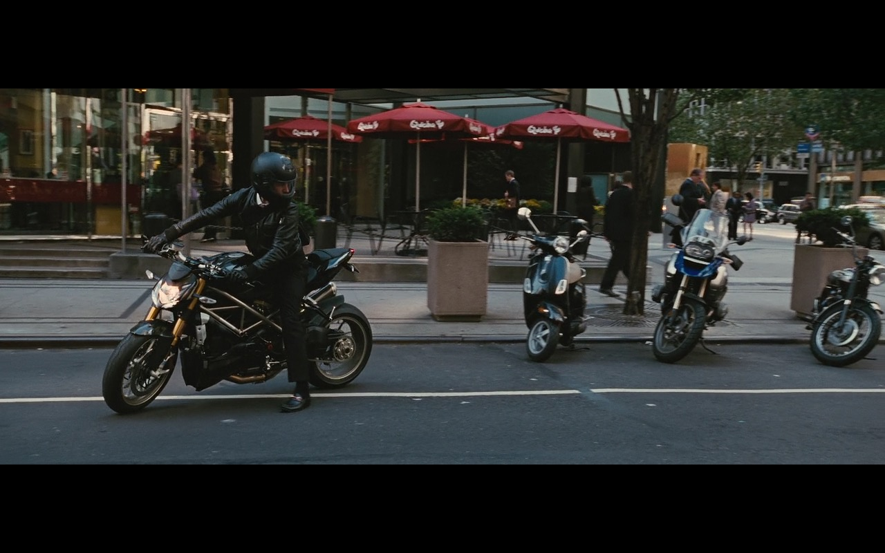 Ducati Streetfighter Motorcycle - Wall Street: Money Never Sleeps (2010) Movie Product Placement