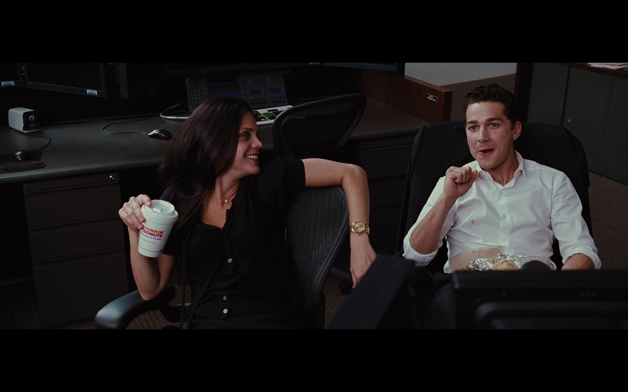 Dunkin' Donuts Drinks And Food – Wall Street: Money Never Sleeps (2010) Movie Product Placement