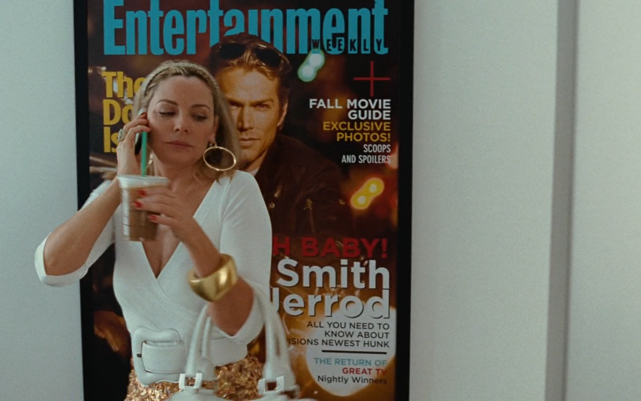 Entertainment Weekly Magazine Poster - Sex and the City (2008) - Movie Product Placement