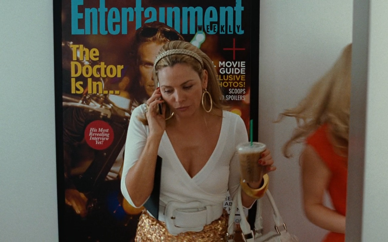 Entertainment Weekly Magazine Poster - Sex and the City (2008) Movie Product Placement