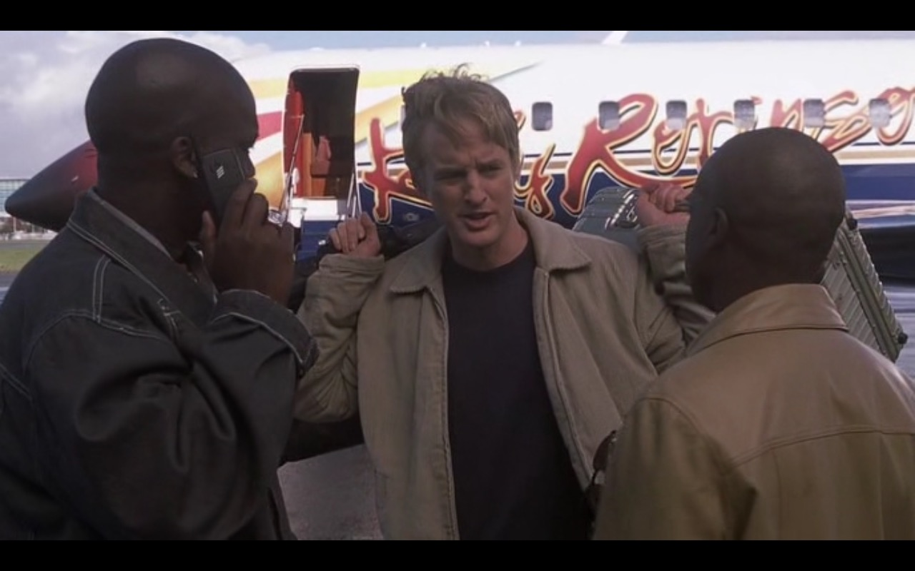 Ericsson Mobile Phone - I Spy (2002) - Movie Product Placement