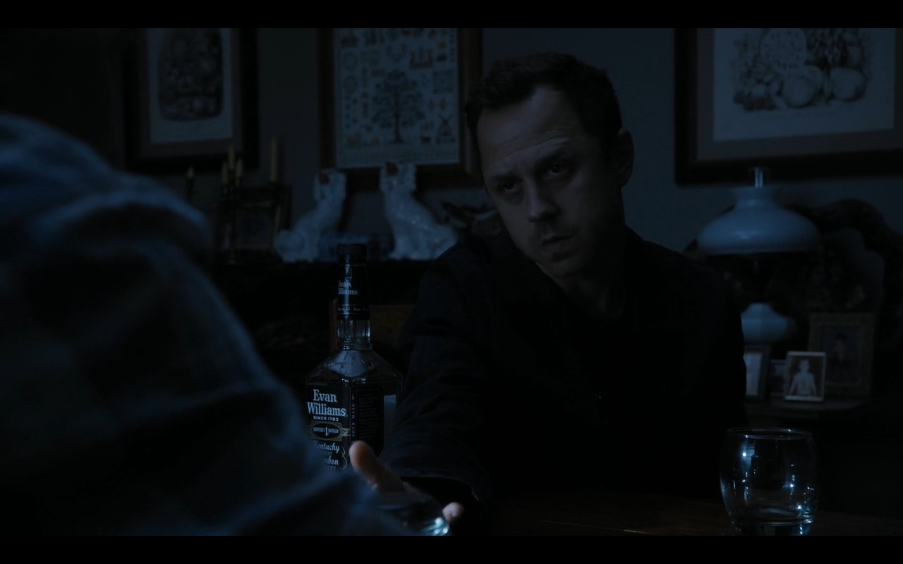 Evan Williams Whiskey - Sneaky Pete TV Show Product Placement