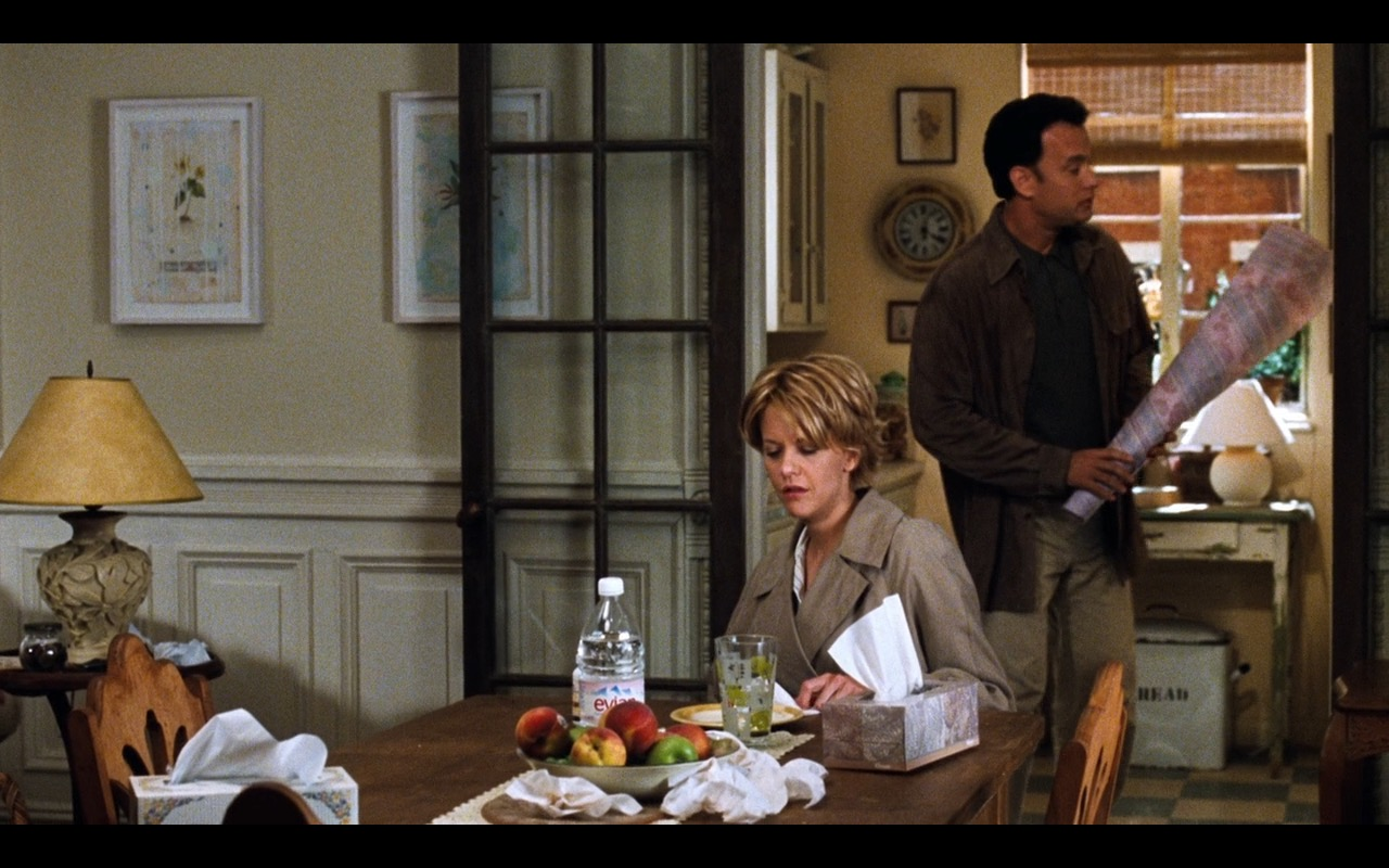 Evian Water – You've Got Mail (1998) Movie Product Placement