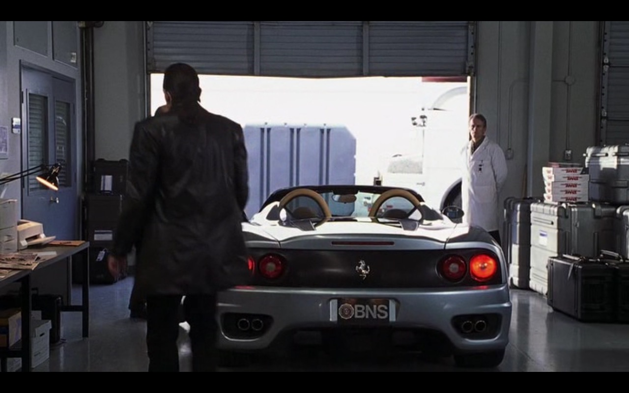 Ferrari 360 Spider – I Spy (2002) Movie Product Placement