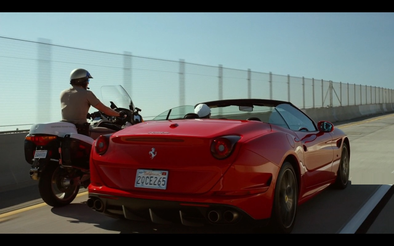 Ferrari California T Car – CHIPS (2017) Movie Product Placement