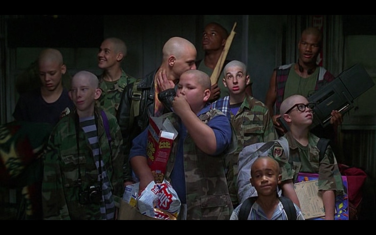 Fiddle Faddle candy-coated popcorn - Major Payne (1995) Movie Product Placement