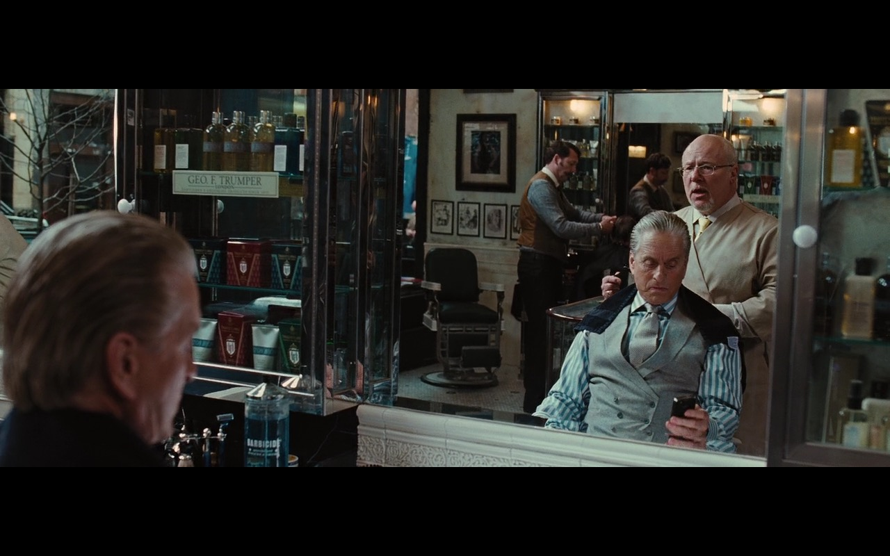 Geo. F. Trumper gentleman's barbers and perfumers – Wall Street: Money Never Sleeps (2010) Movie Product Placement