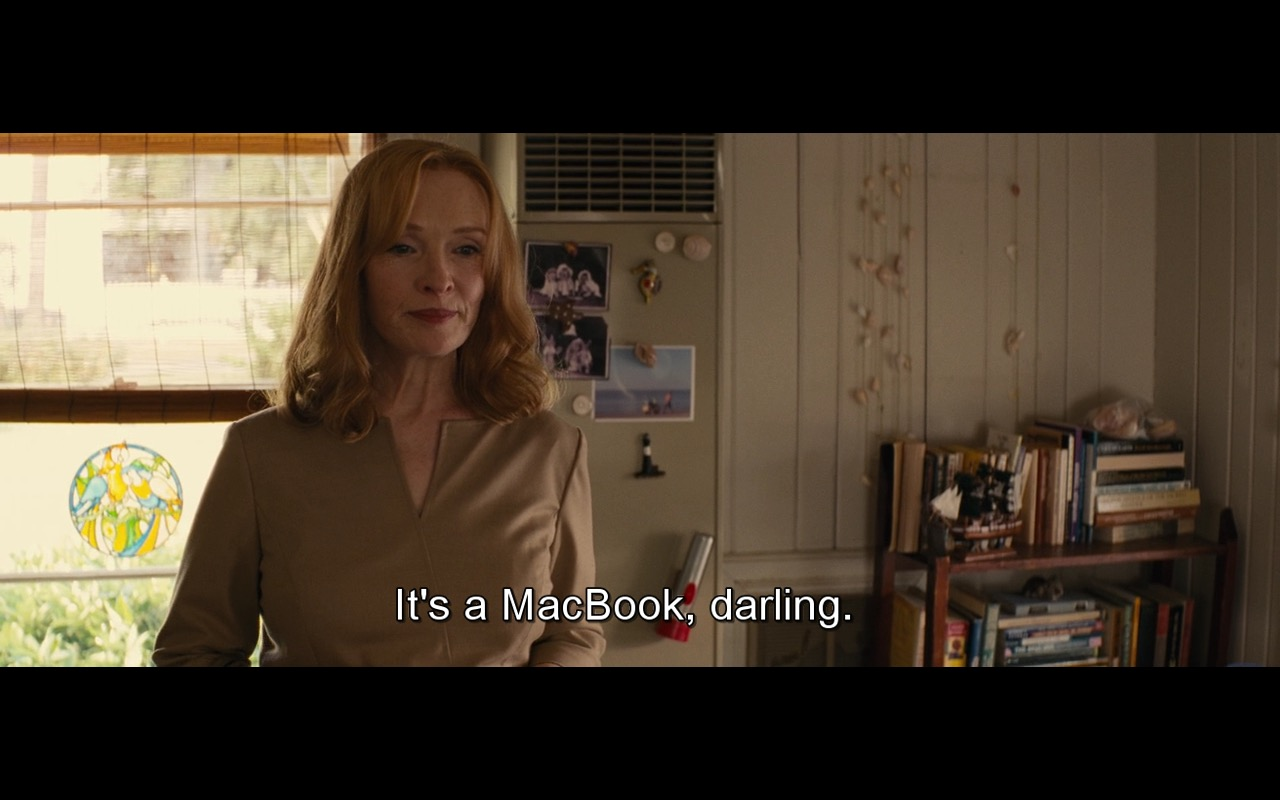 Gold Apple MacBook – Gifted (2017) Movie Product Placement