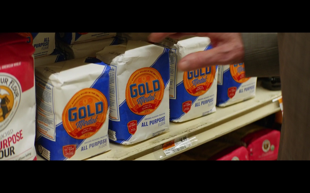 Gold Medal Flour – Going in Style (2017) Movie Product Placement