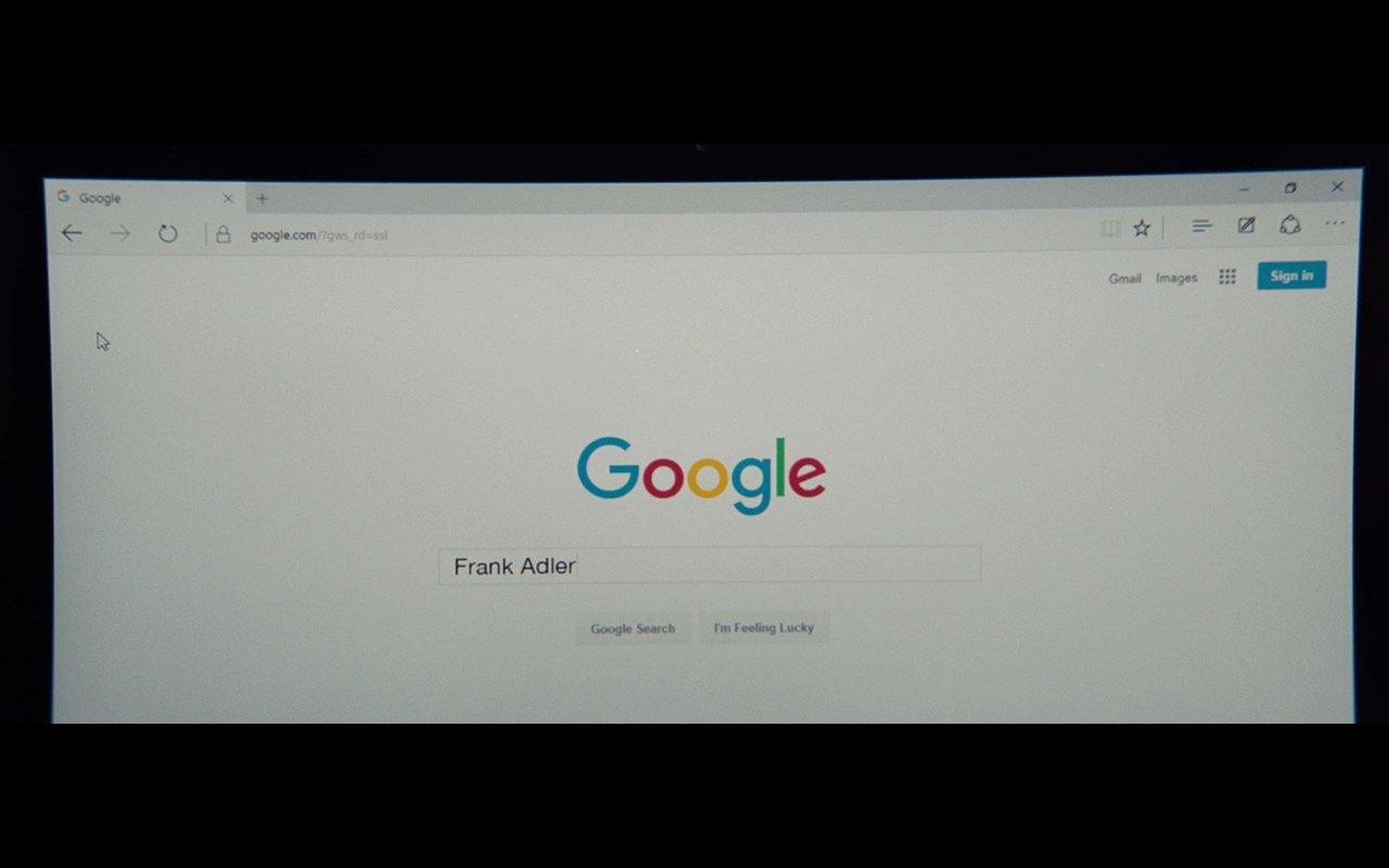 Google Web Search – Gifted (2017) Movie Product Placement